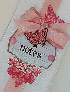 Butterfly Notebook - Closeup
