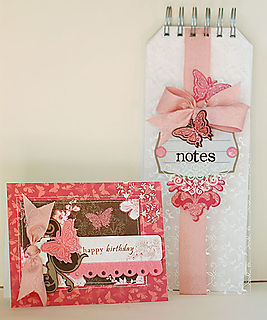 Butterfly Notebook and Card