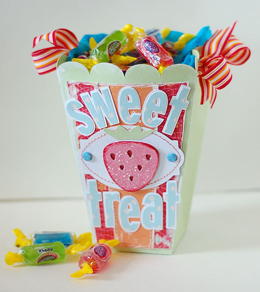 Sweet Treat Candy Container