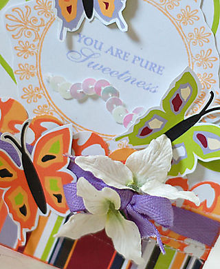 Pure Sweetness Butterfly Card-2