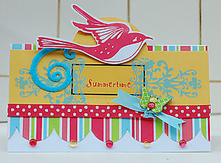 Summertime Bird and Butterfly