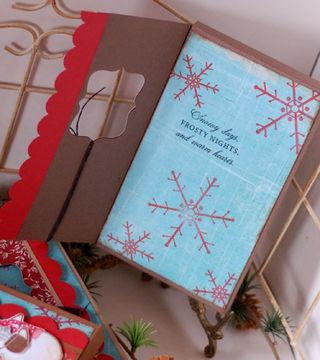 Snowman cocoa wraps-inside