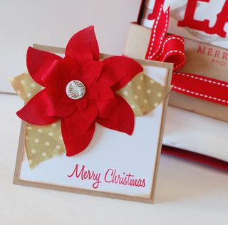 Poinsettia-Card