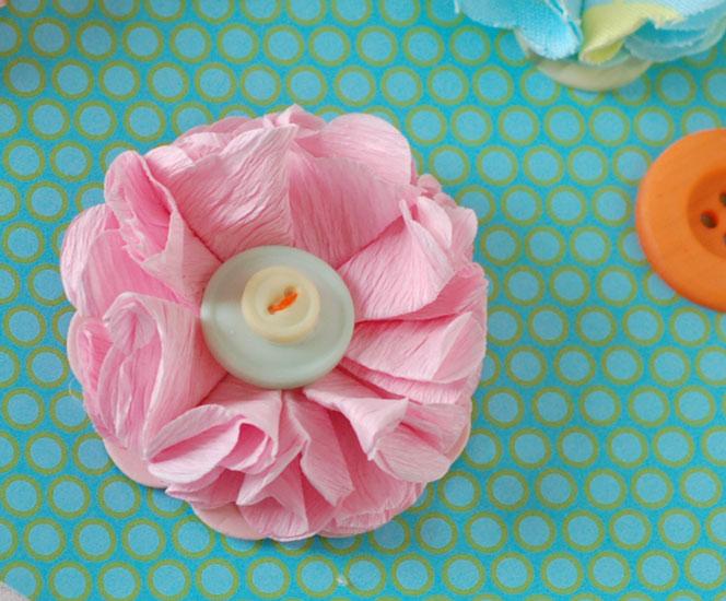 Crepe-flower