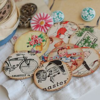 Chipboard-buttons