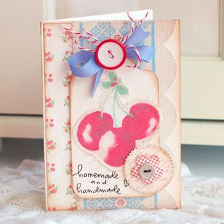 Handmade-Cherry-Card
