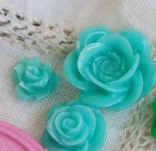 Resin-roses