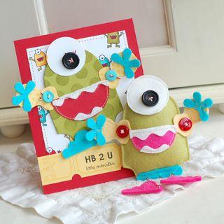 BD-Monster-Card-set