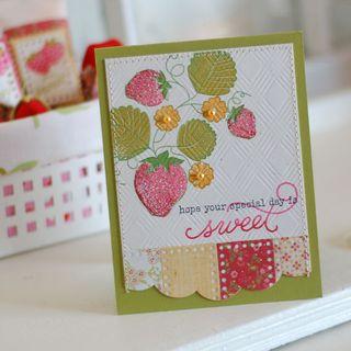 Strawberry-card