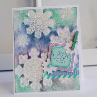 Watercolor-Snowflakes