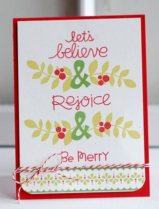 Believe&rejoice&bemerry