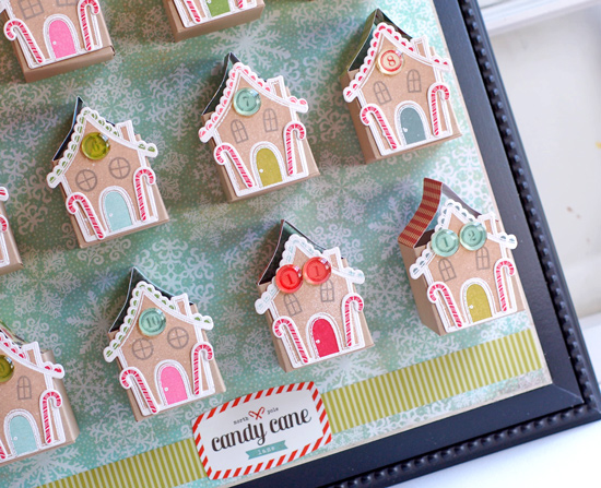 Paper, Scissors and Superheroes: Gingerbread house template