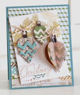 Snow-Village-Ornament-Card
