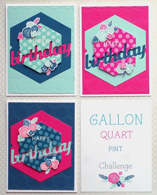 Gallon-Quart-Pint