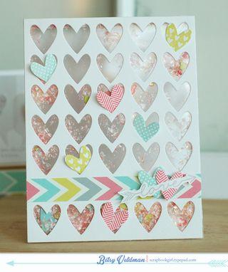 Love Hearts Shaker