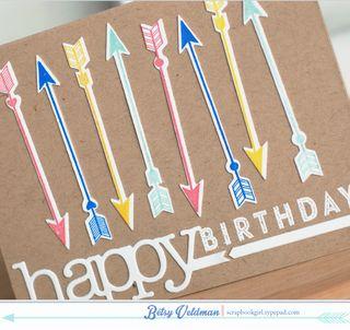Birthday-Arrows