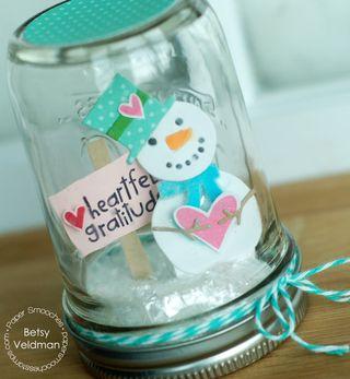 Betsy-Snowman Die