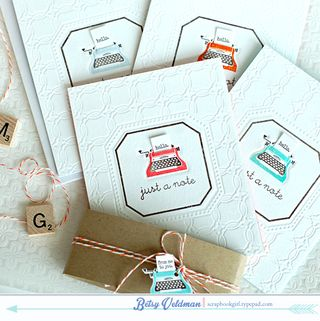 Desktop Letterpress Set1