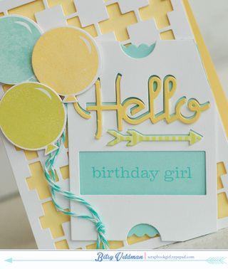 Hello Birthday Girl dtl