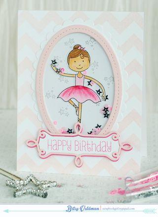 Birthday Ballerina Shaker1