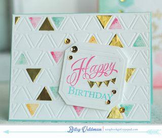 Happy Birthday Triangles