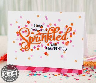 Orange Sprinkled