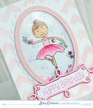 Birthday Ballerina Shaker-dtl