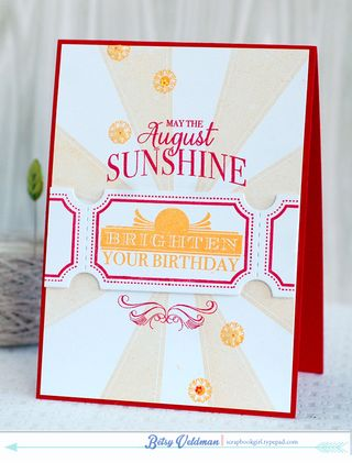 August-Sunshine
