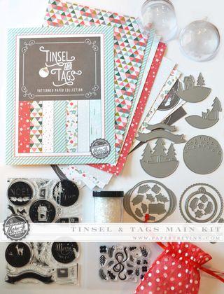 Tinsel & Tags Main Kit