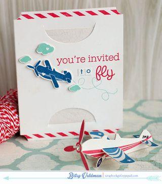 Airplane-invite
