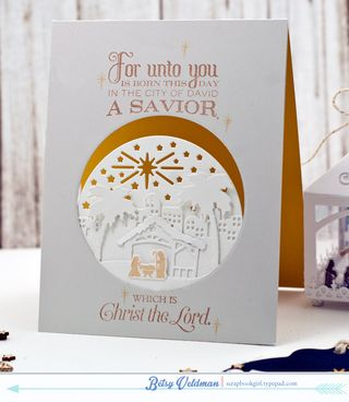 Nativity-card