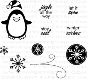 Winter penguin