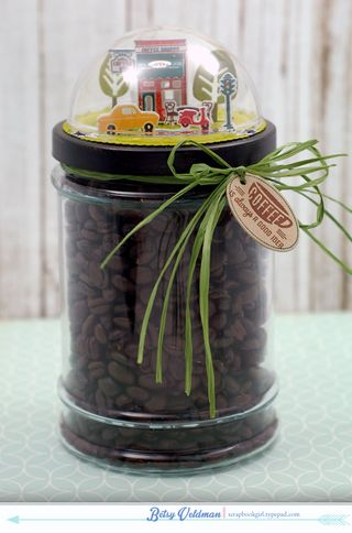 Coffee-jar