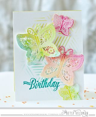 Birthday-butterflies