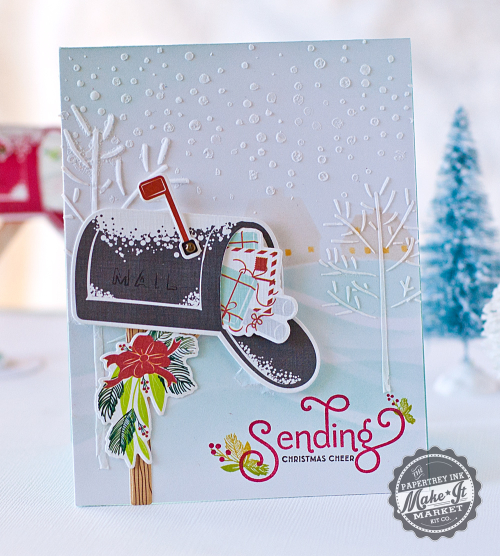Textured-trees-card