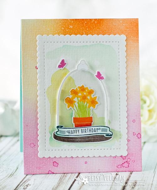 Cloche-daffodils