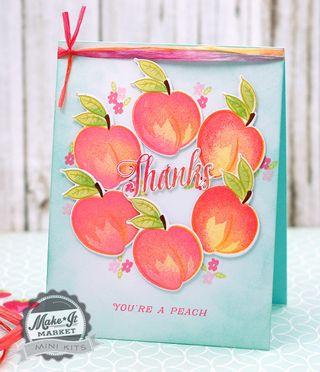 Peach-wreath