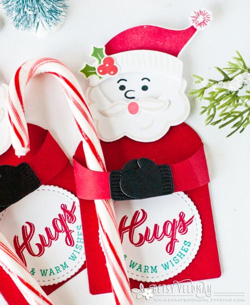 "Who wants a warm hug for Christmas! I used the ""-Holiday Hugs ..."