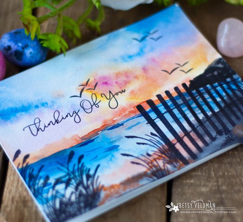 Papertrey_Ink_Fence_Line_Summer_Sunset_2