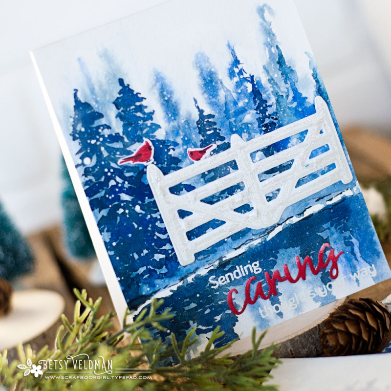 Fence_Line_Winter_Words_To_Live_By_Caring_watercolor7