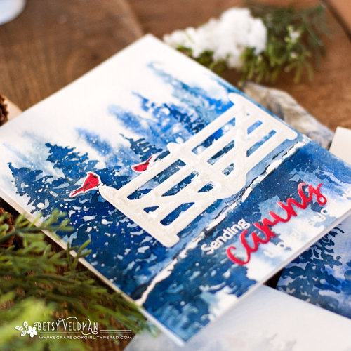 Fence_Line_Winter_Words_To_Live_By_Caring_watercolor4