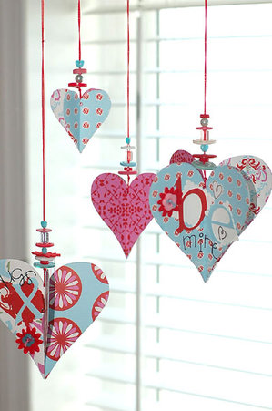 Valentines Day crafts, kids' crafts, Valentines decor